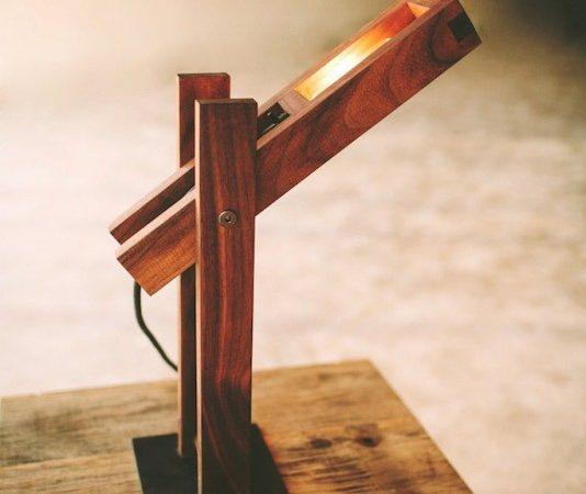 Jasa Laser Cutting Lampu Kayu