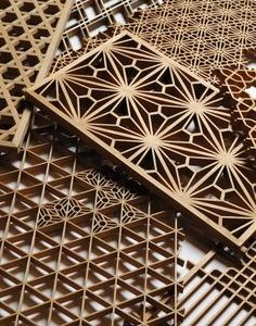 jasa laser cutting partisi kayu